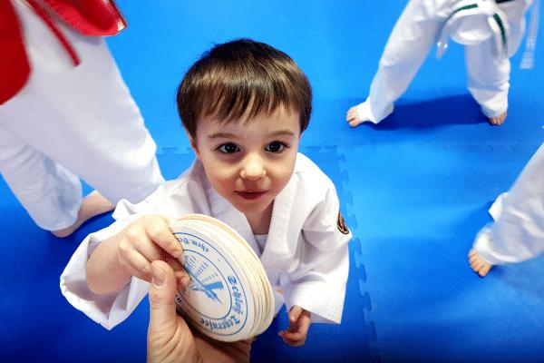 Lion Kidz SchülerTaekwondo Familie Tegernsee