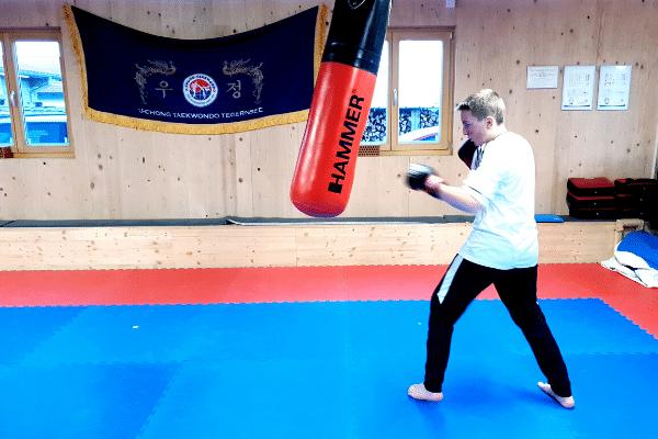 Kickboxen Jugendliche Schüler